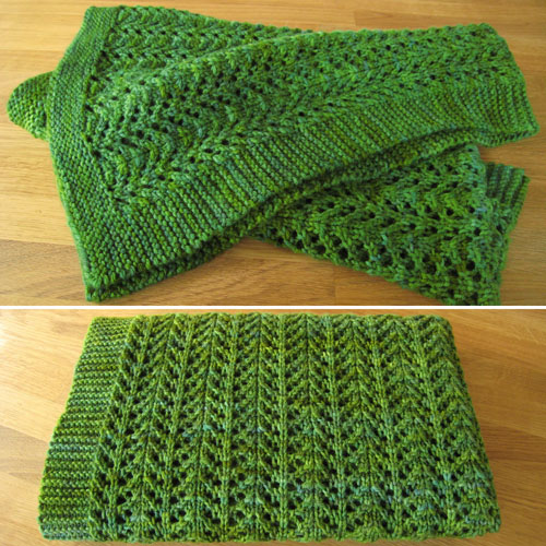 Pine Forest Baby Blanket - Free Pattern