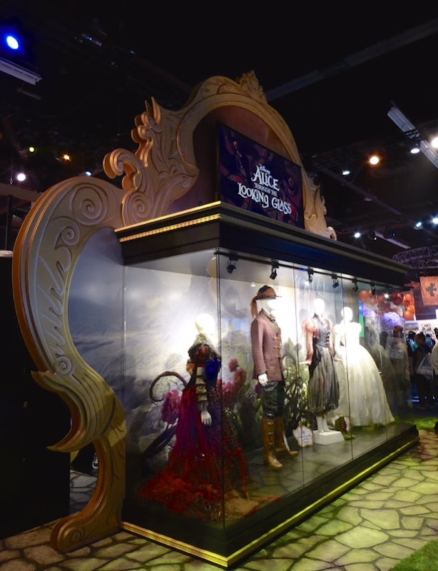Disney Alice Through Looking Glass movie costume exhibit