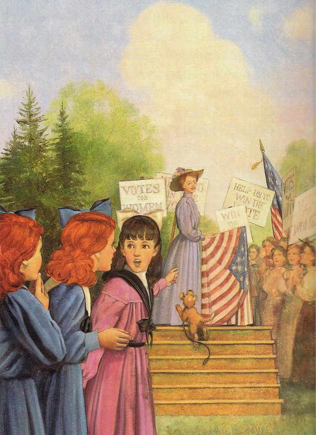 American Girl Outsider: Book Blather Book Reviews: Happy ...