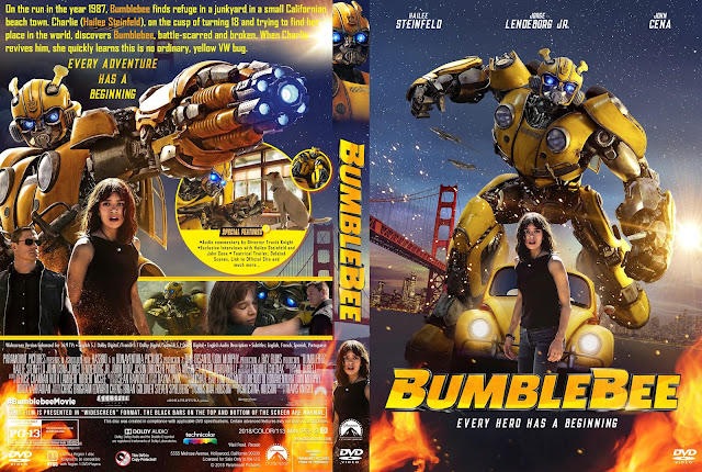 Bumblebee DVD Cover