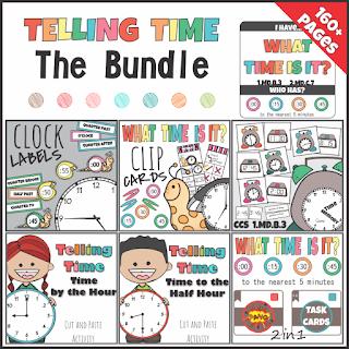 https://www.teacherspayteachers.com/Product/Telling-Time-Bundle-3060364