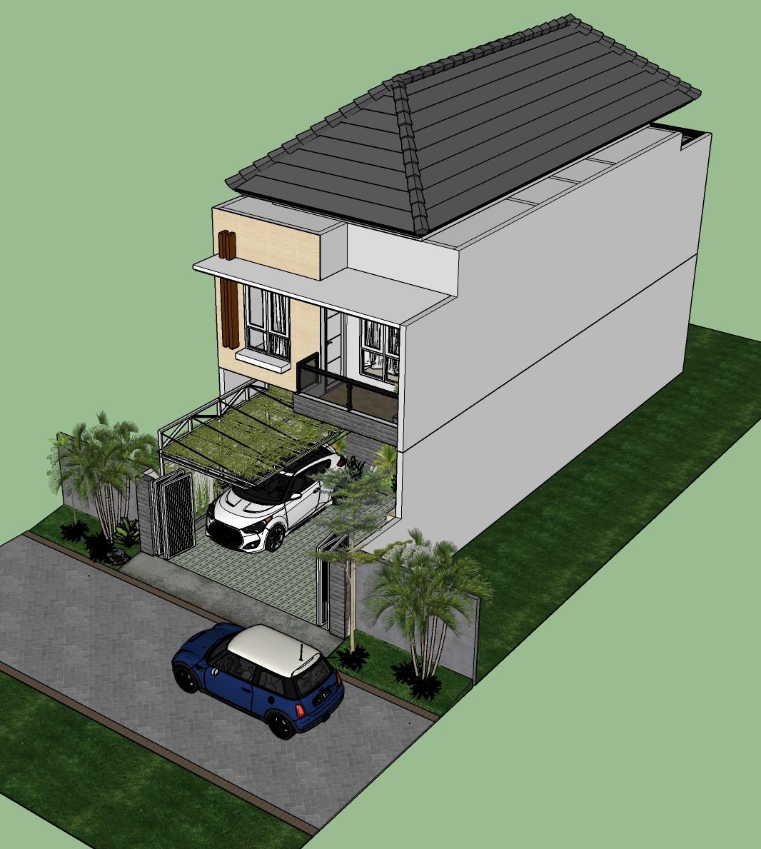 Desain Rumah Minimalis 2 Lantai Jasa Bikin Rumah
