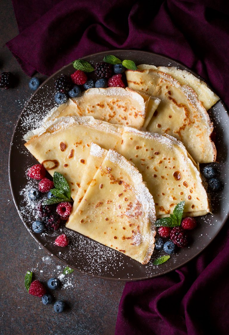 #Crepes #snack #recipes