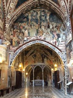 afrescos medievais monasterio sao bento visitas guiadas - Mitos e realidade sobre conhecer Roma