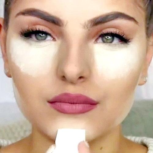 tecnica baking de maquillaje kim kardashian