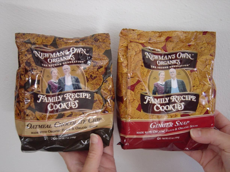Newman's Own Organics Oatmeal Chocolate Chip & Ginger Snap Cookies.jpeg
