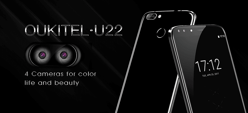 Oukitel U22 With Quad Cameras Announced!