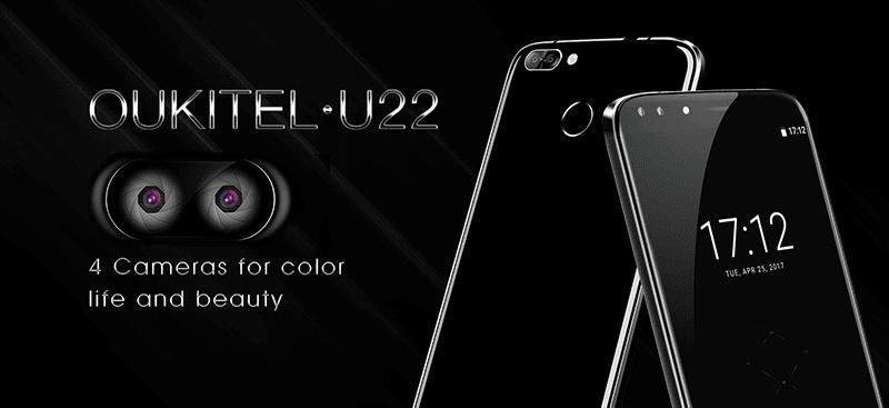 Oukitel U22 With Quad Cameras Announced!
