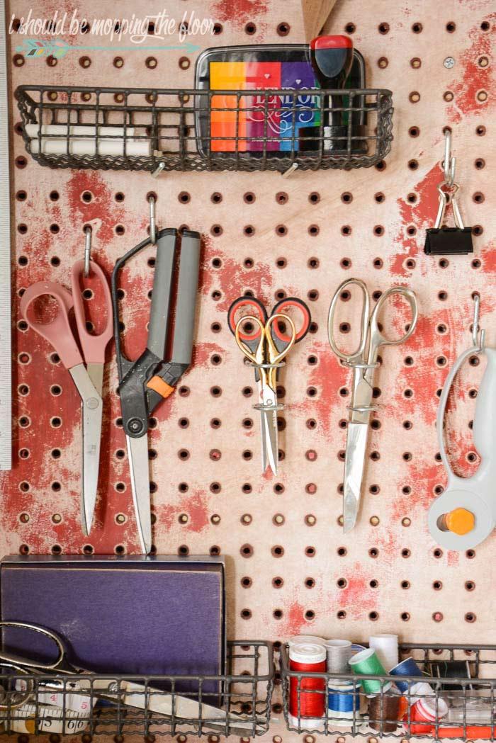 Craft Scissor Storage