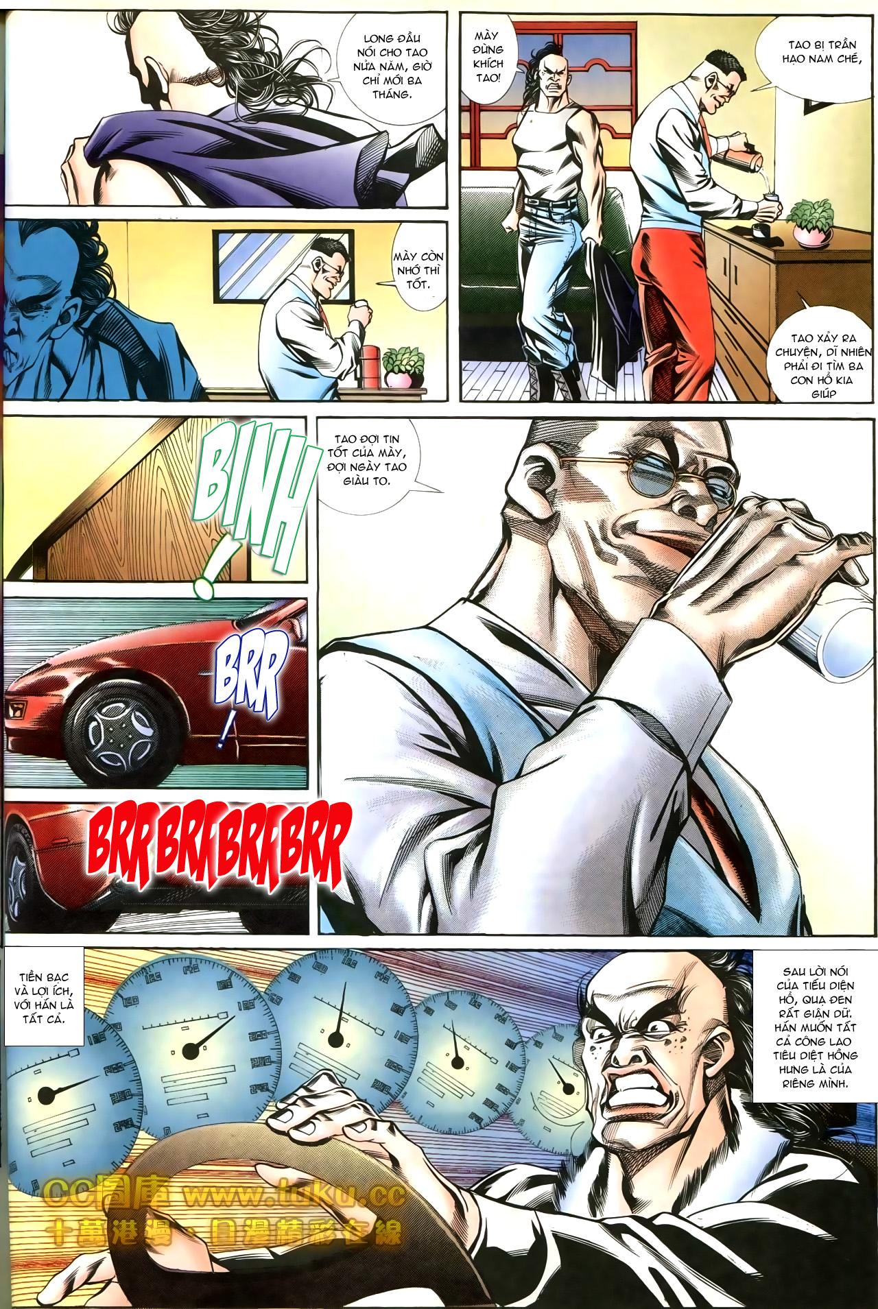 Người Trong Giang Hồ chapter 197: quạ đen báo thù trang 24
