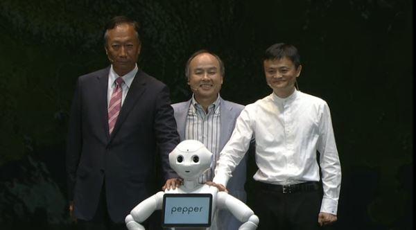 軟銀結盟阿里巴巴、富士康,將機器人賣向全球