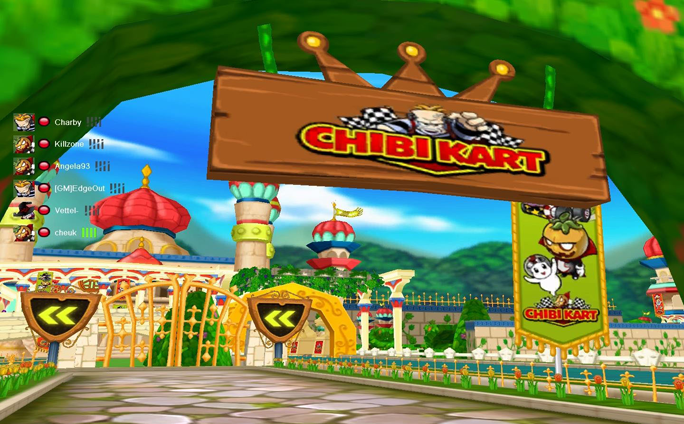 The Retro Racer Chibi Kart Drifts into OGPlanet for its Full Release