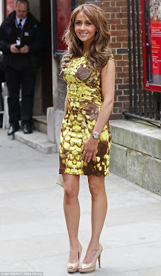 Coronation Street, MCQ, Alexander McQueen, Yellow Brown Graphic Rose Petal Floral Print Dress