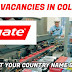 JOB VACANCIES IN COLGATE