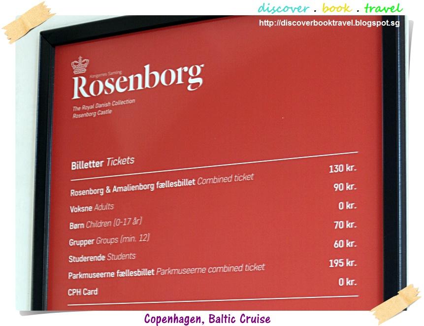Rosenborg slot ticket