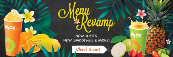 New Tempting Tastes & Fabulous Flavours @ Juice Works Malaysia