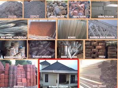 Perkiraan Daftar Harga Bahan Bangunan