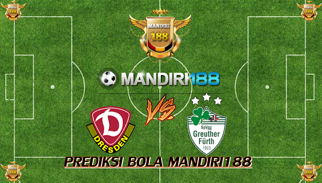 AGEN BOLA - Prediksi Dynamo Dresden vs Greuther Furth 8 September 2017