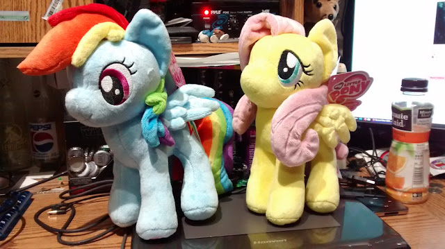 Fluttershy and Rainbow Dash 4de Shipping