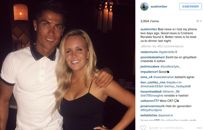 She lost her phone, Cristiano Ronaldo finds it and invites her for Dinner