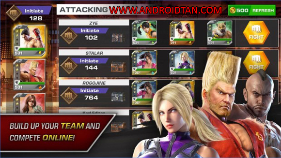 Download TEKKEN Mod Apk v0.1 Android All Region Terbaru 2017
