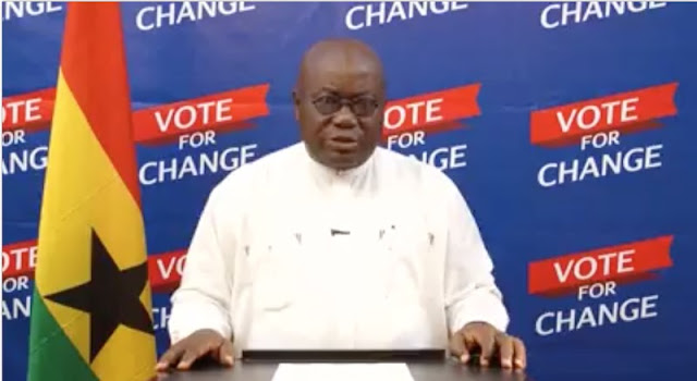 Nana Akufo-Addo's Final Broadcast Speech