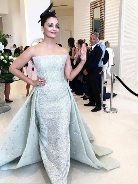 Menggemaskan, Aishwarya Rai Ajak Anaknya Tampil di Cannes 2018