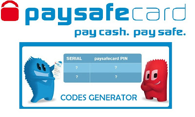 Paysafecard Code Generator - Updated July 2013 ~ Top Game Hacks