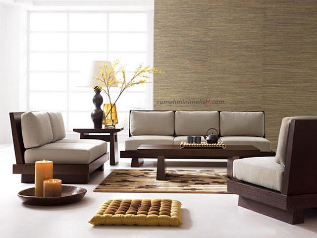 Desain interior rumah ruang santai Minimalis