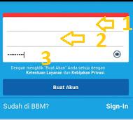 daftar bbm di androi