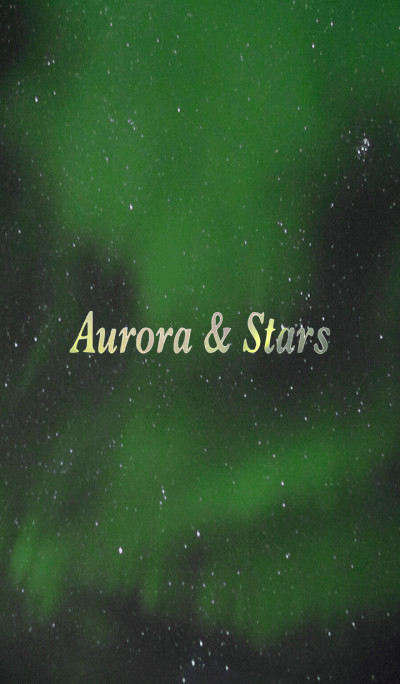 Great view of Aurora & Starry sky