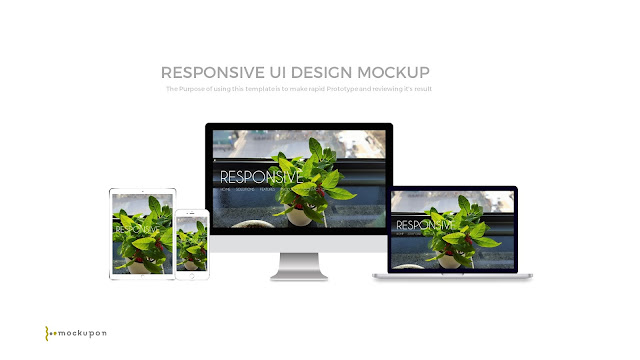 Slide1_Powerpoint Responsive Showcase Device Mock-up Templates