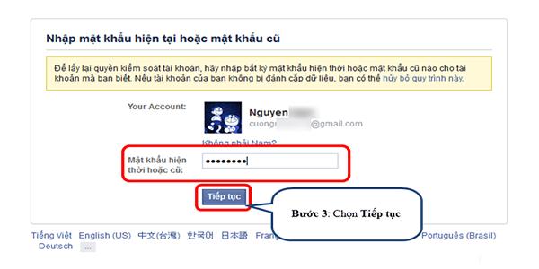 tài khoản facebook bị vô hiệu hóa