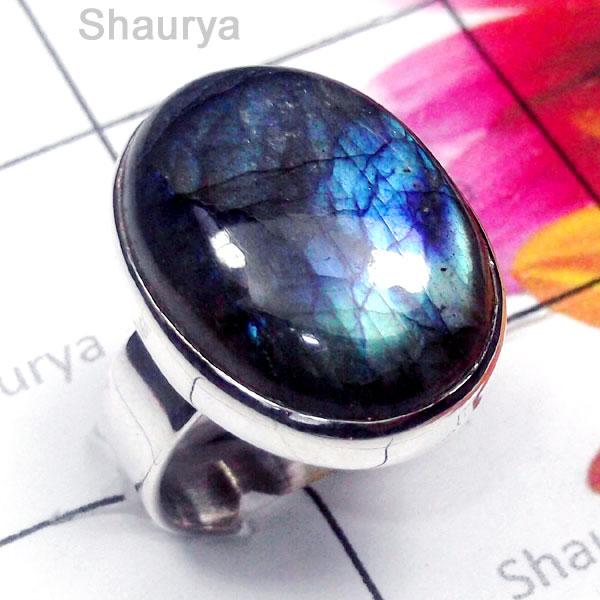 Δαχτυλίδι της Shaurya International από την Ινδία σε πολύ προσιτή τιμή.(   11.59) Οι Λαμπραδορίτες χρησιμοποιήθηκαν για πάρα πολλά χρόνια στην  κατασκευή ... 48acf517ffa