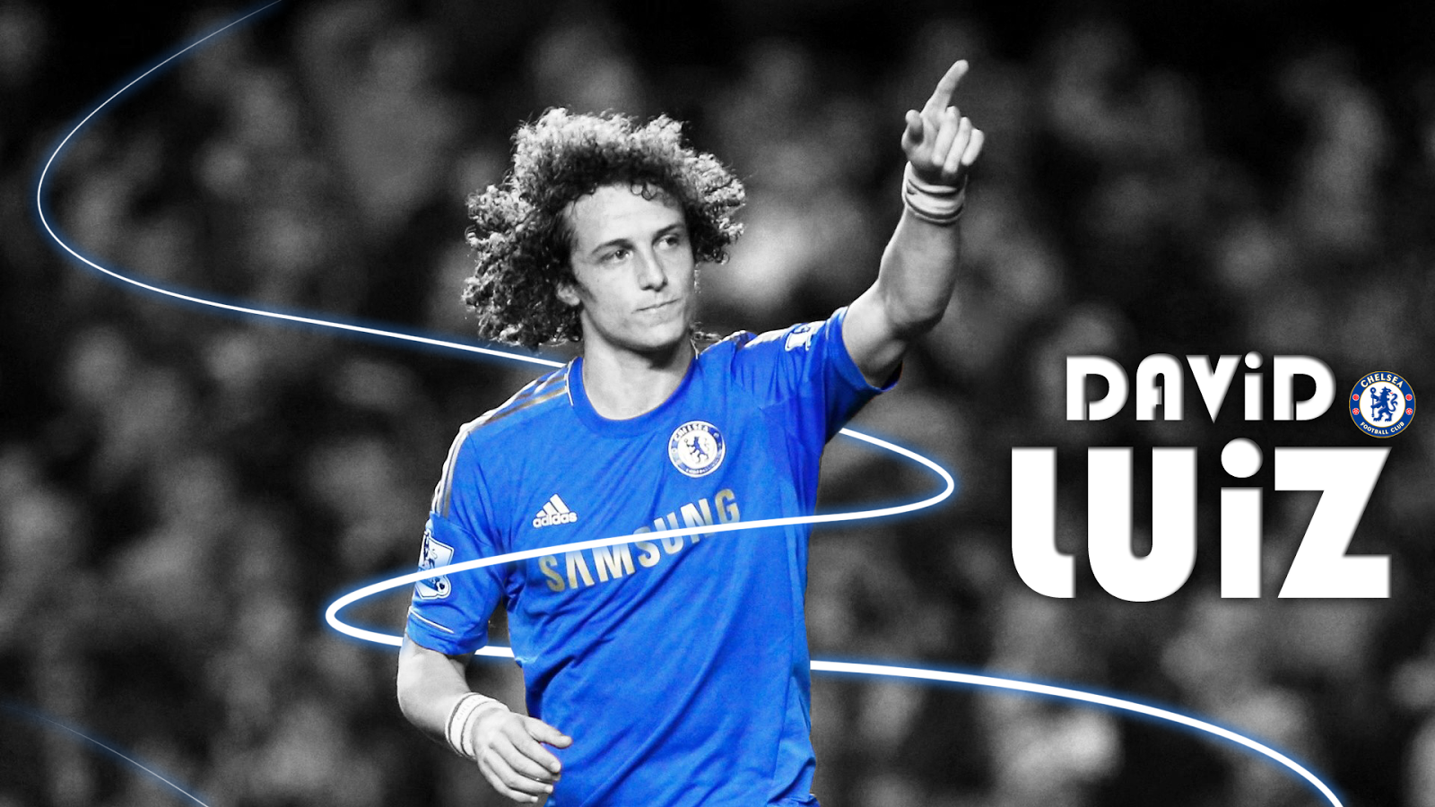 David Luiz Fresh HD Wallpaper 2014