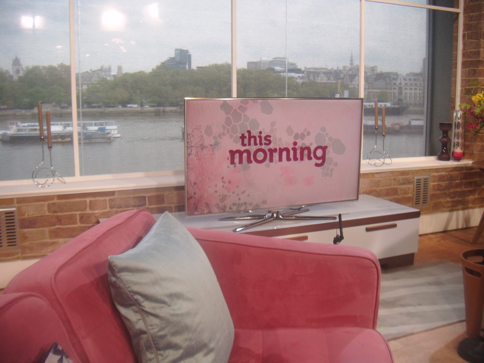 Backstage at ITV This Morning : Sex & London City