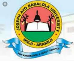 Joseph Ayo Babalola University Courses and Requirements
