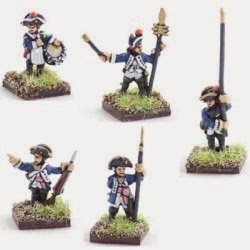 AWG9 Hessian musketeer command.