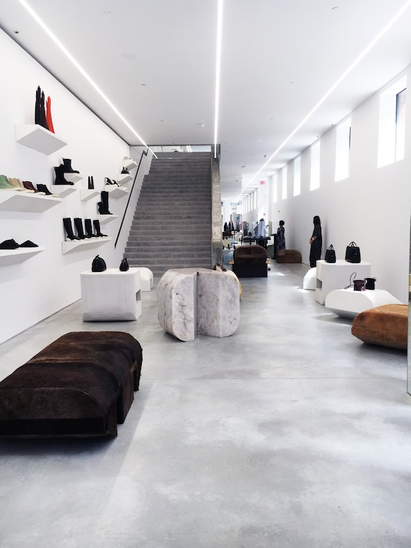 Amato vosgesparis: Rick Owens New York City store LL88