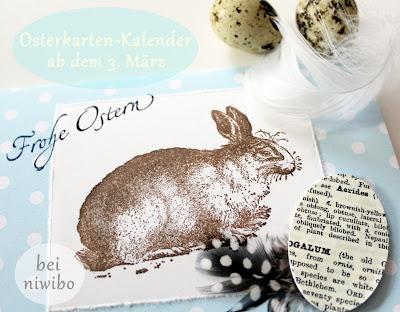 Osterkarten Kalender