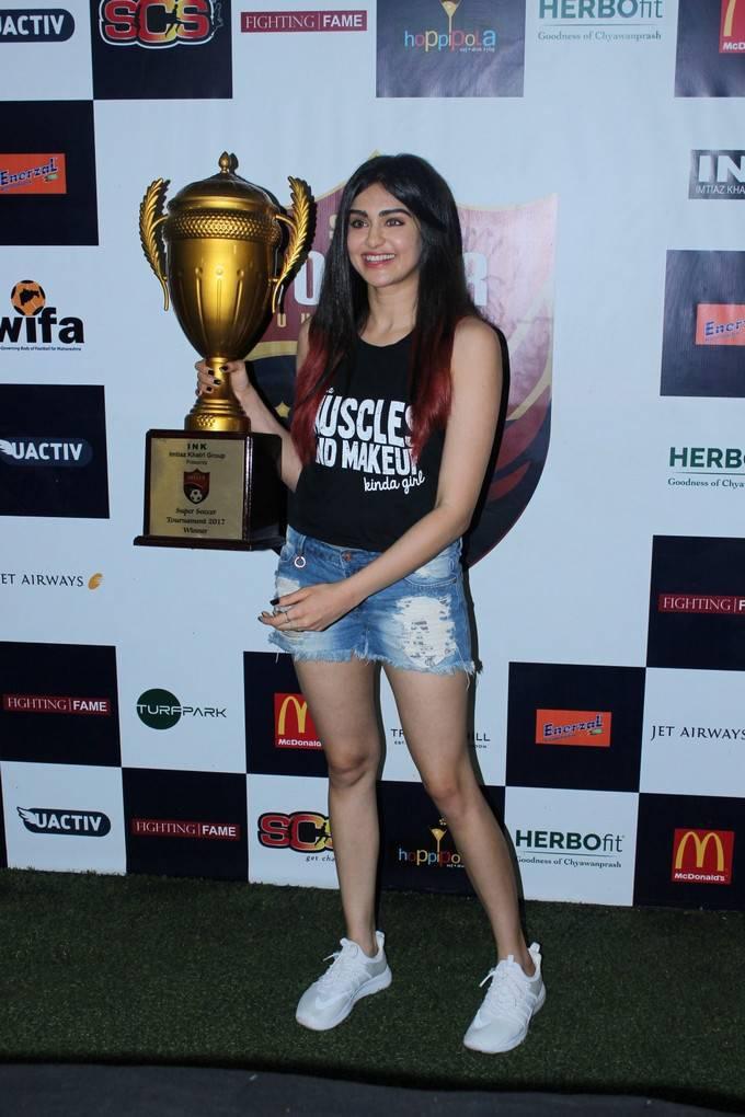 Adah Sharma At Super Soccer Tournament Launch Stills