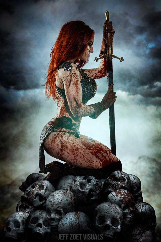 Red Sonja Cosplay by Claire Ana