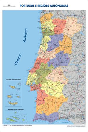 mapa se portugal Ilusão: Os municípios e as freguesias de Portugal mapa se portugal