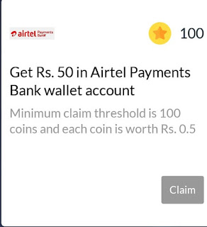 wynk music refer and earn reward airtel payment