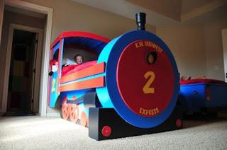 Build A Train Bed