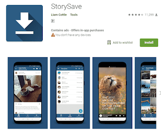 Story save - top 5 android free apps
