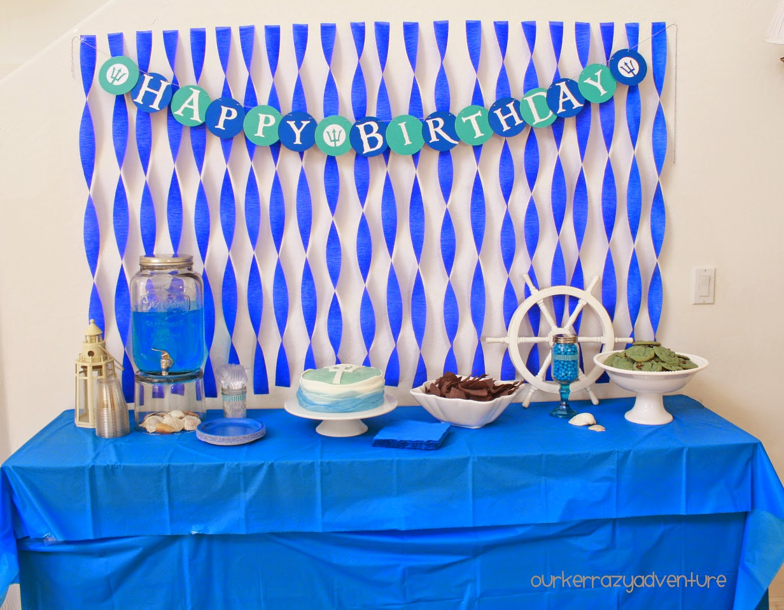 Our Kerrazy Adventure Percy Jackson Birthday Party