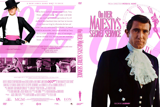 Capa DVD 007 On Her Majestys Secret Service