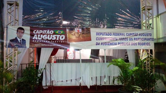 Capitão Augusto quer instituir o Dia Nacional do Rodeio no Dia de São  Francisco d6ed73a7f52
