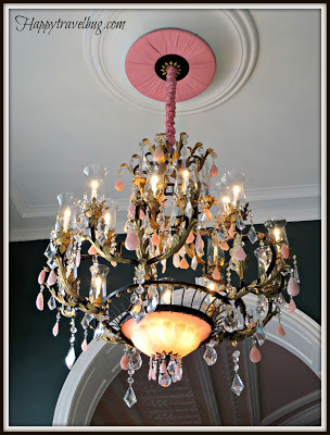 Chandelier at the Greenbrier